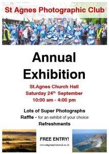 st agnes photographic club annual exhibition 2016 poster