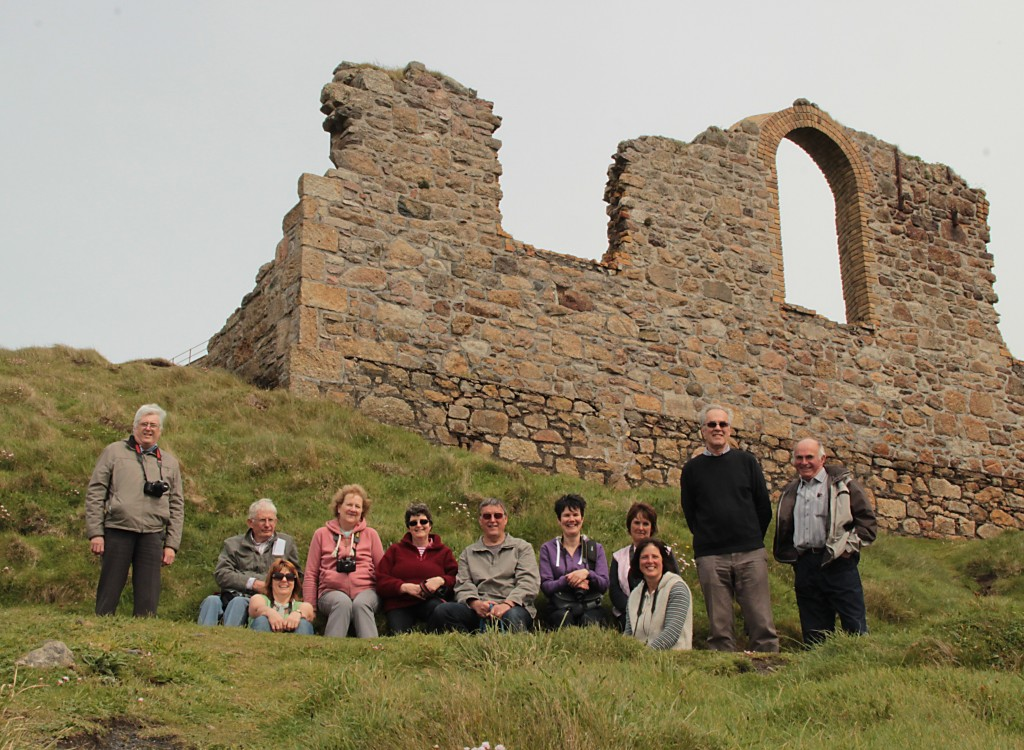 Photoclub members at Botallack, Spring 2013.