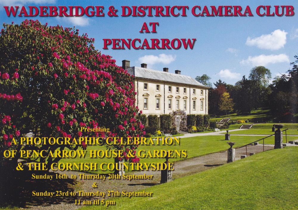 Wadebridge & District CC - Pencarrow Exhibition