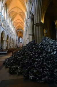 Truro cathedral installation